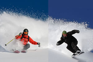 Hire the latest Skis or Snowboards and improve your snow experience